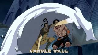 Luffy & MR.3 - Giganto FUUSEN + Candle Wall