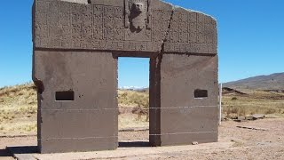 Flying Over Tiwanaku Bolivia With Quadcopter