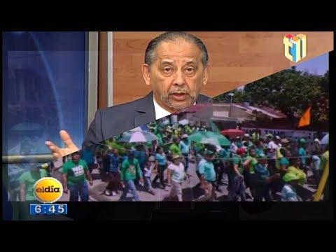 Huchi Lora Marcha en Bonao con todo un Éxito , todos ¡JARTOS! de la Corrupción 1/3