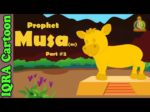 Musa (AS) Part 2 | Moses (pbuh) - Prophet story - Ep 16 (Islamic cartoon - No Music)