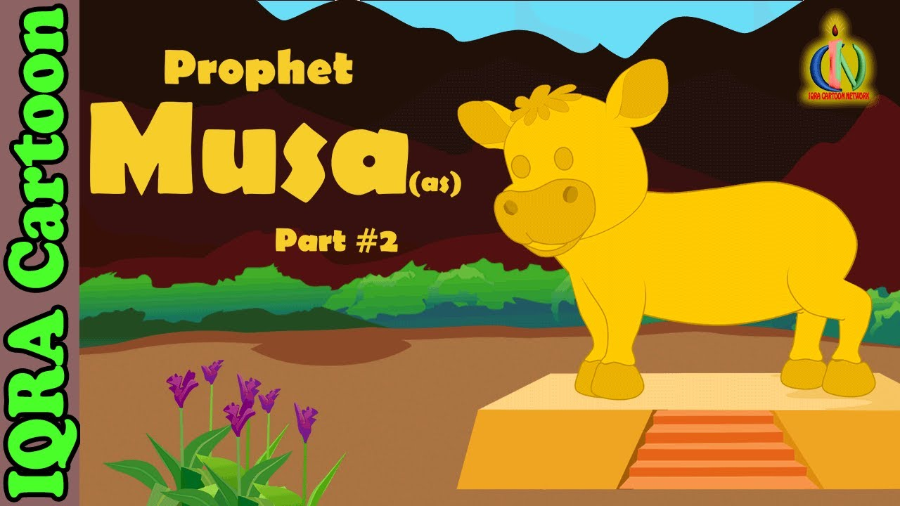 Prophet Stories MUSA / MOSES (AS) Part 2 | Islamic Cartoon | Quran Stories | Islamic  Videos - Ep 16