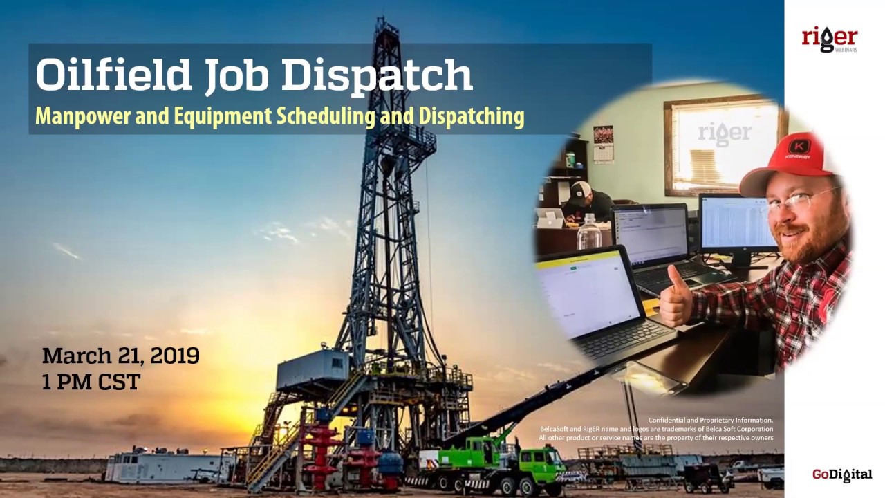 Oilfield Equipment Dispatch in RigER  Oilfield Software for Energy Service  and Rental Companies