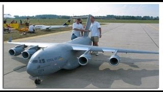 Biggest Rc Airplane In The World C-17