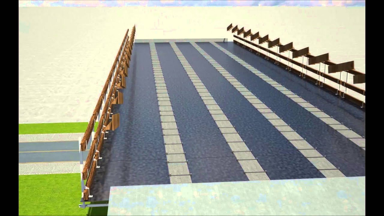 Losa autoportante para puentes con fenolico youtube for Losas de pared