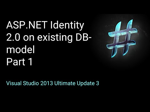 Use ASP.NET Identity on existing DB-Model PART 1