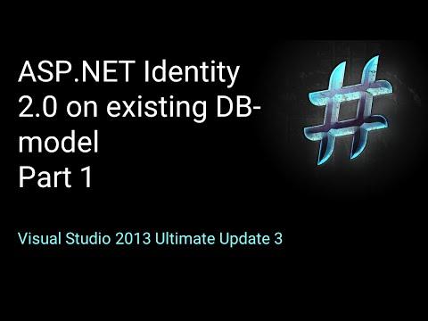 Use ASP.NET Identity on existing DB-Model PART 1