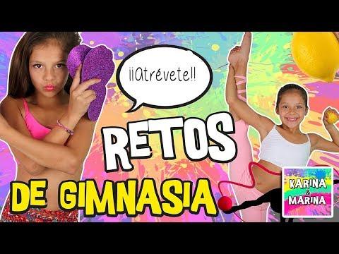 😧 ¡¡RETOS DE GIMNASIA!! 😧 TICK TOCK + ANILLO de pie + Fouetes + Remonte + Spagat + Pino puente...