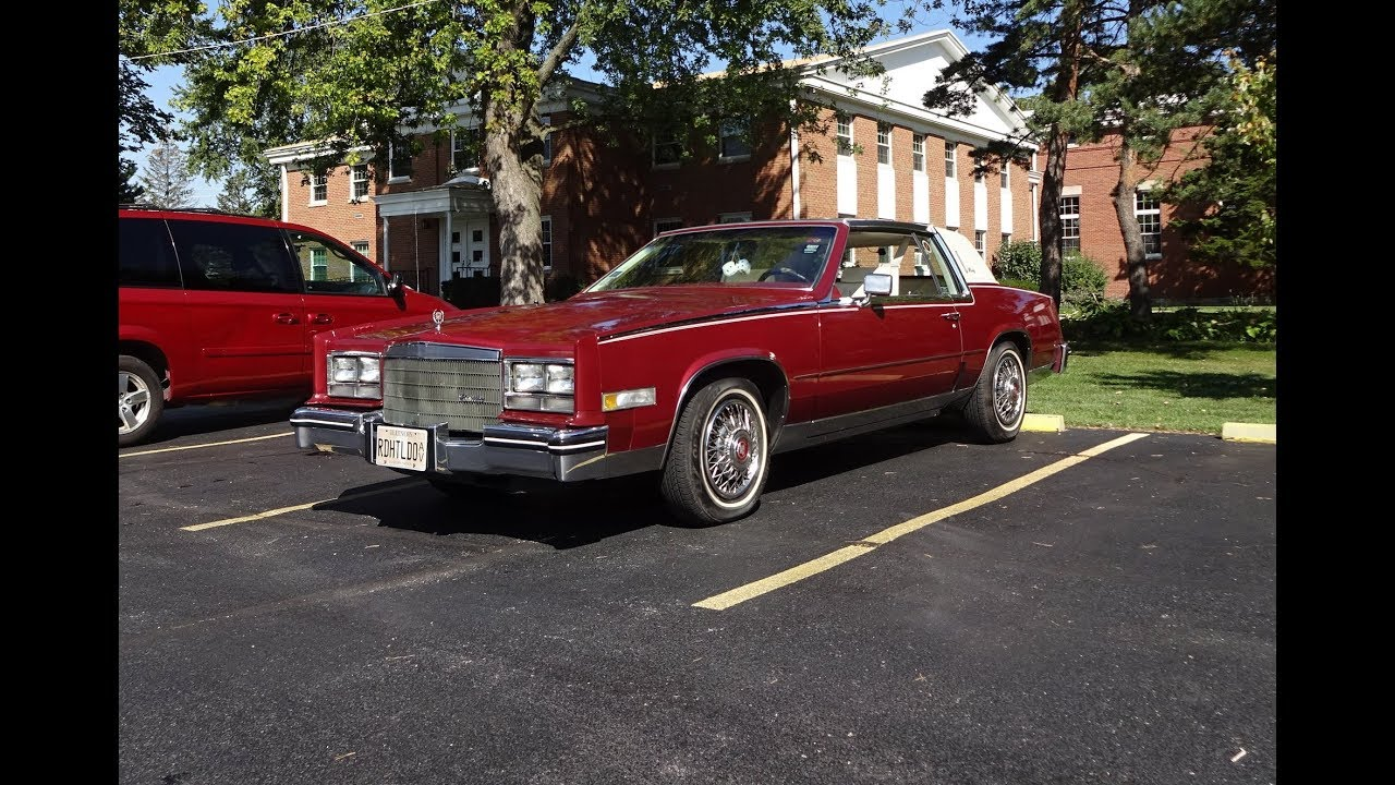 1985 cadillac eldorado biarritz coupe in firemist red engine sound my car story with lou costabile youtube 1985 cadillac eldorado biarritz coupe in firemist red engine sound my car story with lou costabile