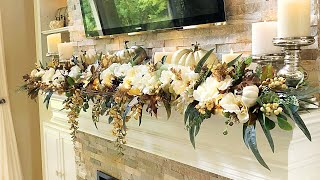 2018 Fall Mantel   How To Decorate A Mantel