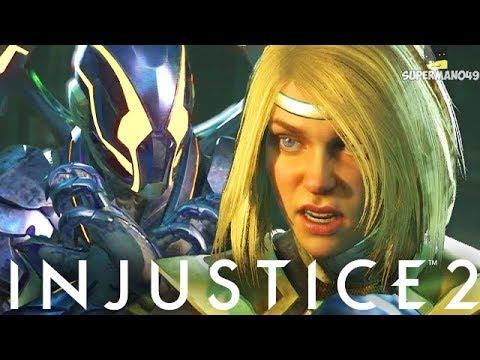"Legendary Supergirl Vs Legendary Blue Beetle! - Injustice 2 ""Supergirl"" Legendary Gear Gameplay"