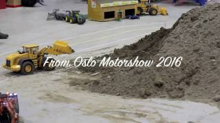 RC Construction Trucks!  | Vehicles, Front Loader-  more from Oslo Motor Show 2016