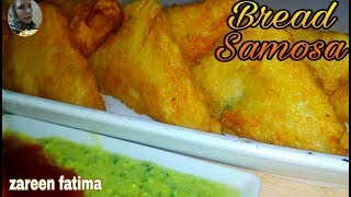 Bread Samosa with Zareen Fatima