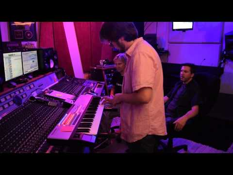 IMPRESSIVE MESS / recording session for their 6 song EP. At my Recording Studio in Los Angeles