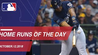 Watch all the home runs for October 12, 2018