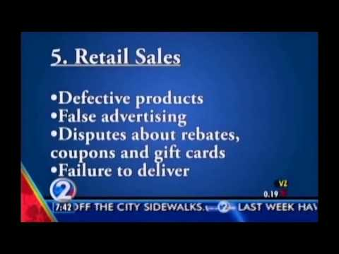 Watch your Wallet with Alan Akina - Top 10 Consumer Complaints for 2012