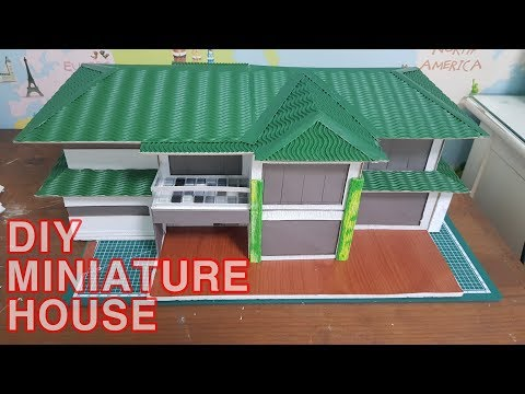 DIY MINIATURE PAPER HOUSE #01