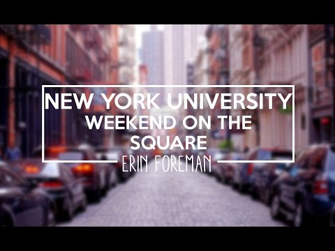 New York University: Weekend on the Square 2016