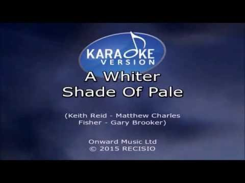 Procol Harum - A Whiter Shade Of Pale karaoke (angelos)