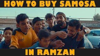 HOW TO BUY SAMOSA IN RAMZAN   Karachi Vynz Official