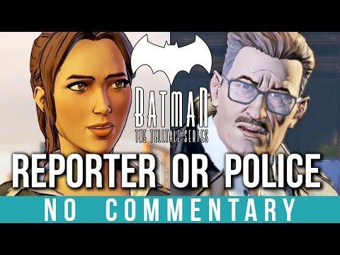 Reporter & Police Story Branch (BATMAN: Telltale Series)