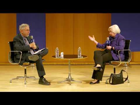 Janet Yellen in Conversation with Paul Krugman