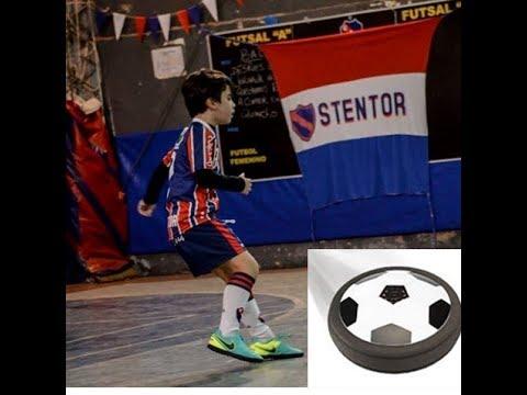 Hovercraft + Soccer = Air Power Soccer Disc / FUT MAGIC