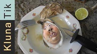 Eating WEIRD creature!! Kluna Tik Dinner #44   ASMR eating sounds no talk