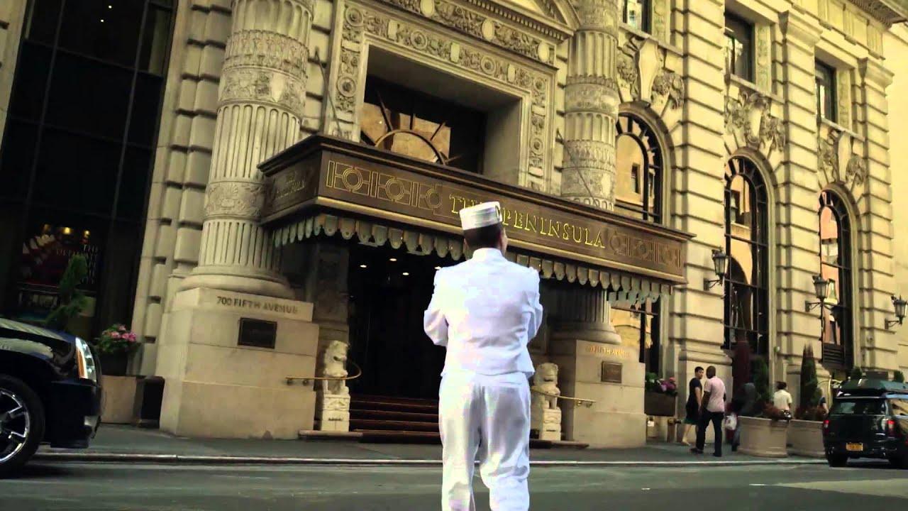 Peninsula Hotel New York - Unravel Travel TV