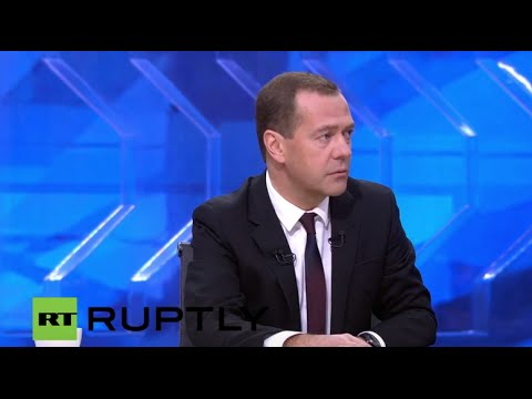 LIVE: Medvedev holds his annual Q&A with journalists in Moscow