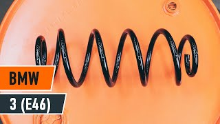 Comment remplacer un ressort d'amortisseur avant sur une BMW 3 E46 TUTORIEL | AUTODOC