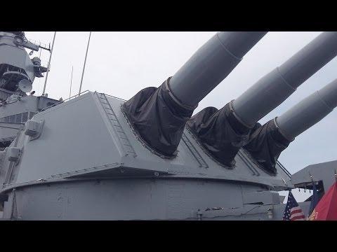 BB-61 USS Iowa Battleship