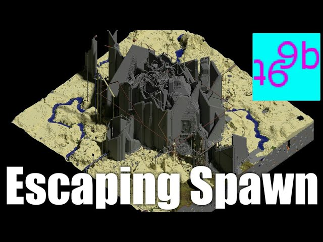 Escaping 9b9t's Spawn with Nothing