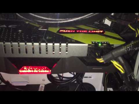 Zotac 1070 Amp Extreme Spectra Lighting You