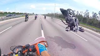Hectic Motorcycle Crashes & Crazy Moto Moments 2018 [Ep. 147]