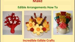 Homemade Gifts to Make - Edible Arrangements How to Thumbnail