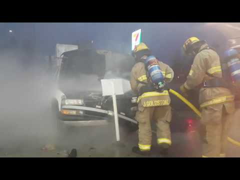 Owner Abusive to Firefighters Responding to Burning Truck