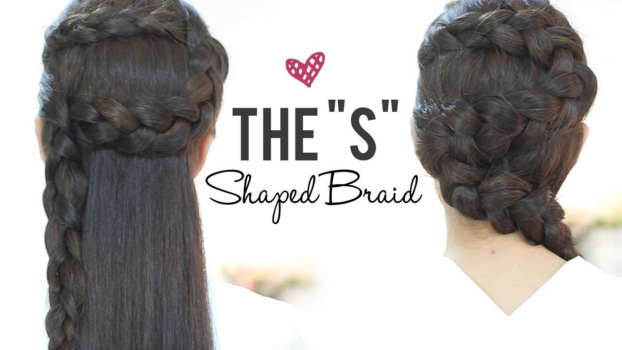 S Shaped Braids Hairstyles Step By