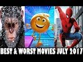 Best & Worst Movies of July 2017 With Almost Sideways