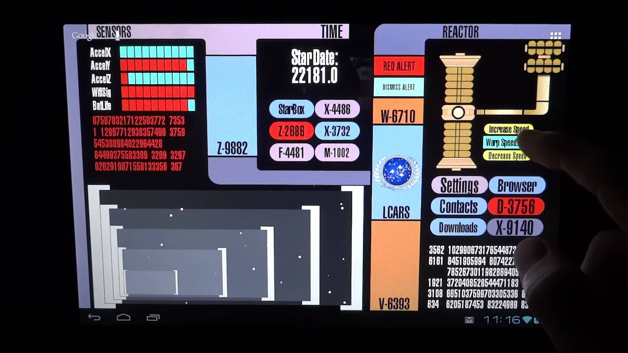 Star Trek Live Wallpaper Hd Youtube