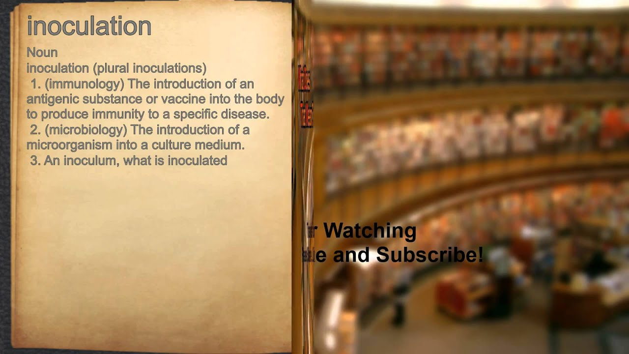 innocuation