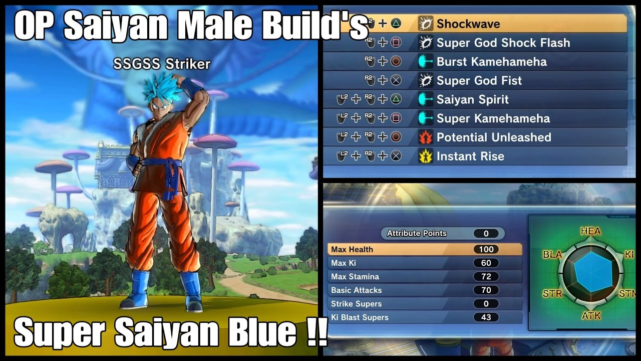 Best Build For Saiyan Xenoverse