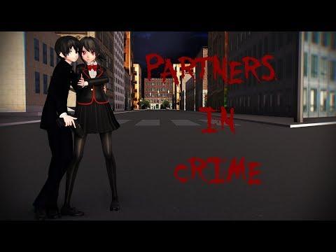【MMD】 PARTNERS IN CRIME 【Yandere Simulator】 Ayano x Taro