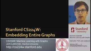 CS224W: Machine Learning with Graphs | 2021 | Lecture 3.3 - Embedding Entire Graphs