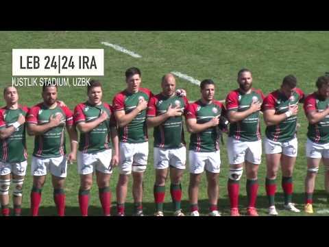 Lebanon Mens Rugby Union - The Phoenix ARC 2017 Tour - Uzbekistan
