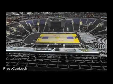 Staples Center Floor Change  |  Los Angeles Kings to Lakers to Clippers | NBA 2015-16 Season