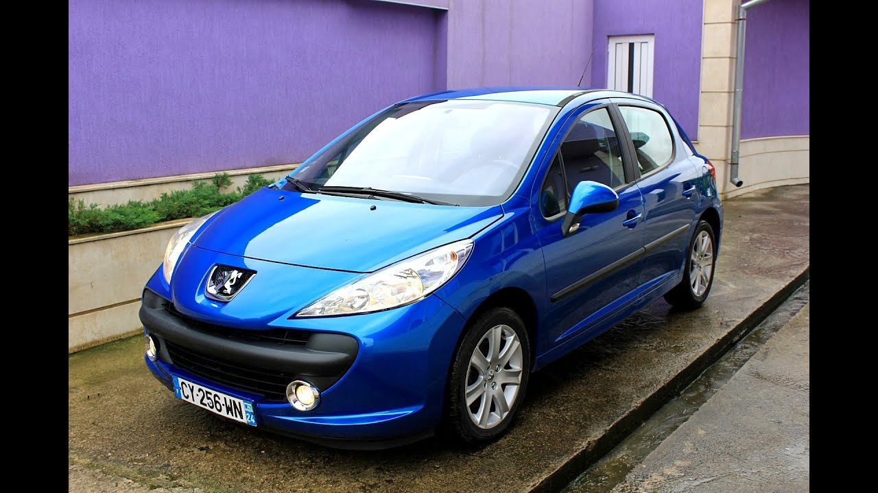 peugeot 207 sport 1 6hdi 2006 4doors youtube. Black Bedroom Furniture Sets. Home Design Ideas