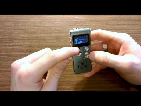 Cheap ebay voice recorder review MY FIRST REVIEW! (ep 1)
