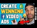How I Create WINNING Facebook Video Ads For SHOPIFY DROPSHIPPING - (Step By Step Tutorial)