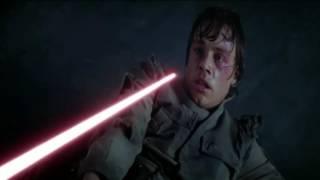 Звездные Войны Эпизод V Дарт Вейдер против Люка Скайуокера (HD)