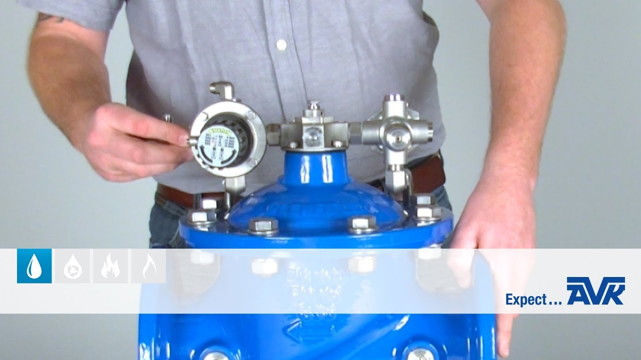 how to set a pressure sustaining valve